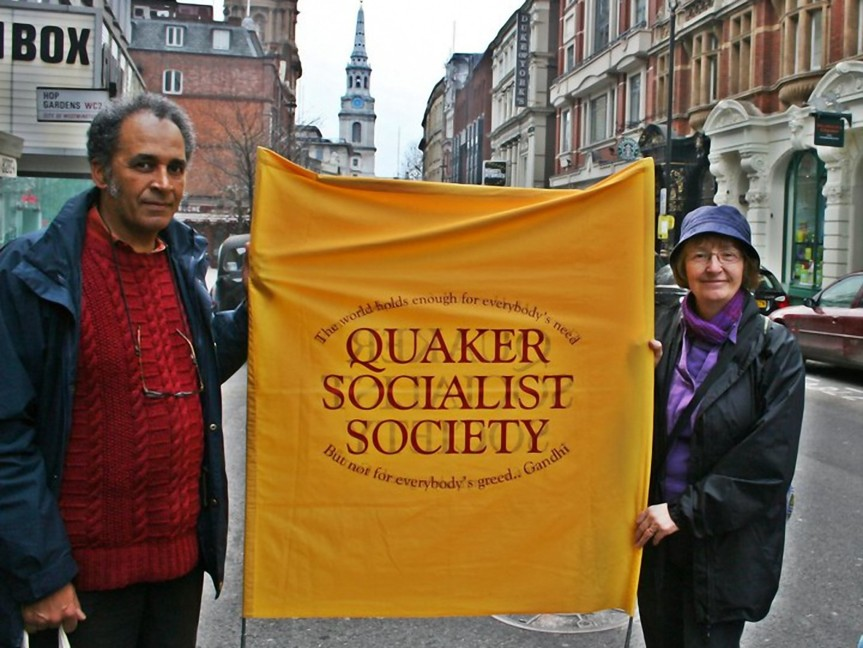 Quaker Socialists at the TUC Rally